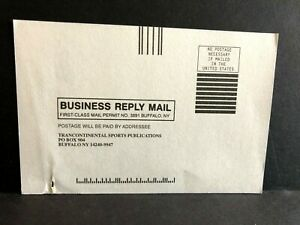 Hockey News Hat Offer Subscription SNES Genesis Card Mail-In Insert ONLY RARE