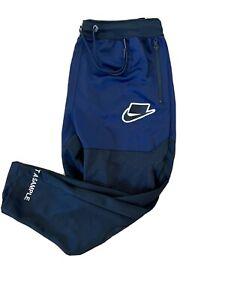 NIKE Sportswear NSW Track Pants BV4550-498 Blackened Blue/Black (MEN'S XL)