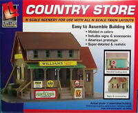 Life-Like N #7463 William's Country Store. Building Kit. New