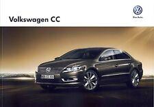 Volkswagen Vw CC 11 / 2012 catalogue brochure tcheque Czech rare