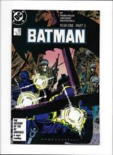 BATMAN: YEAR ONE PART THREE #406 [1987 NM-] CLASSIC FRANK MILLER!
