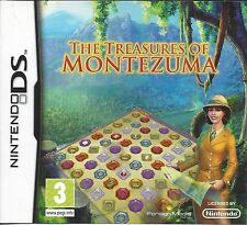 THE TREASURES OF MONTEZUMA for Nintendo DS NDS - with box & manual