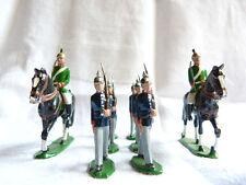 8 cavaliers de plomb allemands ou autrichiens  - Guerre 1914-1918 - Lot 9