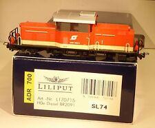 Liliput 170715 Locomotive diesel Rh 2091-002-2 Ep.4/5 H0e Voie étroite,avec DCC