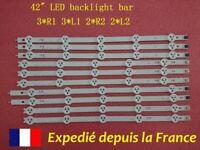 KIT Bande LED rétroéclairage LG 42LN5400 1338A 1339A 1340A 1341A GZ