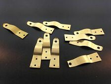 Set of 10 Brass Latches for Large Clocks