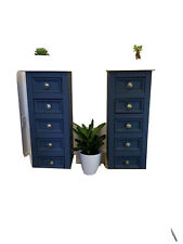 2 Solid wood Side Cabinets