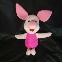 "WALT DISNEY MATTEL ARCOTOYS Piglet Winnie The Pooh Stuffed Plush 13"""