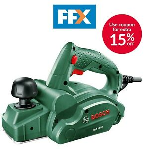Bosch Green PHO 1500 240v 82mm Electric Compact Planer 500W 06032A4070
