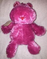 "14"" Hallmark Animal Lola Hippo Plush Toy - Has Original Ear Tag - Not Working"
