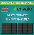 Premium Best Top 80 Site & 24 Admin Templates Collection 2020 New Latest Relase