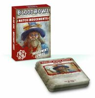 Blood Bowl Match Inducements Cards - Warhammer - Brand New!