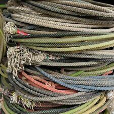 10-Used lariat western cowboy rope decor team rope lasso