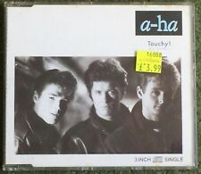 """A-HA TOUCHY Hurry Home Hunting High & Low W 7749 RARE 1988 3"""" CD with adapter"""