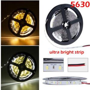 5-50m 5630 White Non-Waterproof 60Leds/m SMD LED Strip Lights DIY Lamps 12V