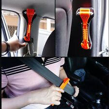 2x Emergency Safety Escape Tool Car Window Glass Hammer Breaker&seat Belt Cutter