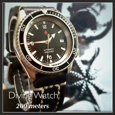 Seiko SKX Planet Ocean Diver Watch Analog Mechanical Automatic Easy Read