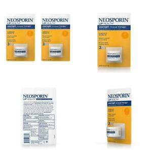 Neosporin Lip Health Overnight Healthy Lips Renewal 0.27 Ounce (Pack of 2)