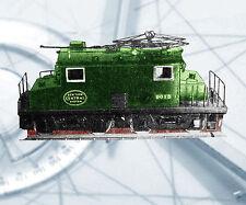 Model Railroad O  GAUGE   ELECTIRIC LOCOMOTIVE NOTES & F/S PLANS