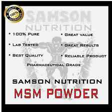 MSM POWDER 1kg UNFLAVOURED PHARMACEUTICAL GRADE - ARTHRITIS AID HUMAN & ANIMAL