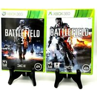 Battlefield 3 & 4 Bundle Microsoft Xbox 360 Ea Dice Very Good First Person 2004