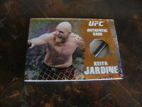 2010 Topps UFC---Main Event---Cage Relic---Bronze--#CR-KJ  Keith Jardine (41/88)