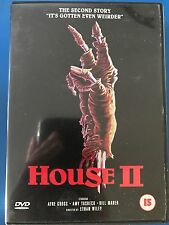 Any Yasbeck HOUSE II / 2 ~ 1987 Cult Horror Classic | Rare 1st Release UK DVD