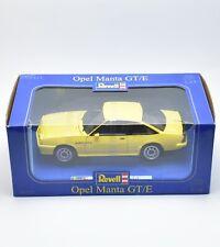 Revell 08421 Opel Manta GT/E Sportcoupe in gelb lackiert, OVP, 1:18, K007