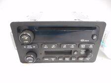 02-05 Chevrolet Impala AM FM AM/FM CD Disc Cassette Player Receiver OEM Opt UP0