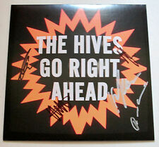 """The Hives *Go Right Ahead* SIGNED RSD Record Store Day 7"""" Vinyl LP Record /750"""