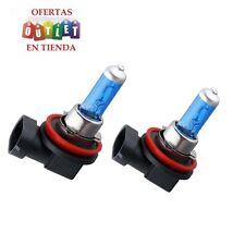 x2 Bombillas H11, luz blanca 55W/100W, 6000k, desde España, tambien en H7/H4