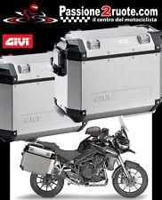 Valigie Laterali Givi Outback 37 + telai PL6403CAM Triumph Tiger Explorer 1200