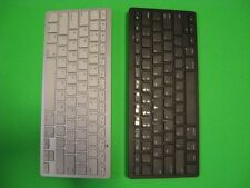 (New Version) Bluetooth (3.0 ) Wireless Keyboard for Macbook/iPad/Android OS-USA