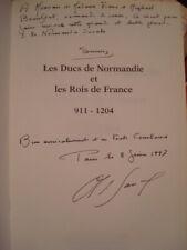 Alain de SANCY Les Ducs de Normandie 1996 E.O. Envoi