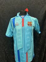 Barcelona Kappa 1996/97 Away Shirt Retro Vintage  Christmas Gift Mens Football