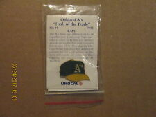 MLB Oakland A's Vintage 1993 Tools Of The Trade CAPS Logo Baseball Lapel Pin