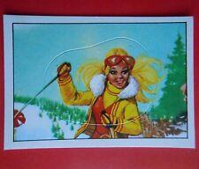 figurines prentjes cromos stickers picture cards figurine barbie 222 panini 1976