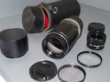 Soligor Telephoto Camera Lenses 200mm Focal