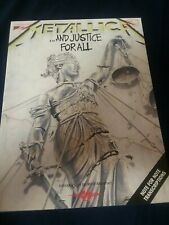 Metallica And Justice For All Guitar Tab Book