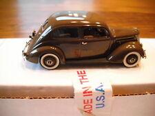 U.S.A. MODELS/MOTOR CITY 1937 FORD TWO DOOR SEDAN TAN USA-37 1/43 SCALE