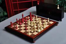 The Classical Staunton Series Chess Set, Box, & Board Combination