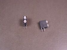 Lot of 2 553-0714F Dialight 3mm Bi-Level LED Green / Yellow / Green / Red 4 Pin