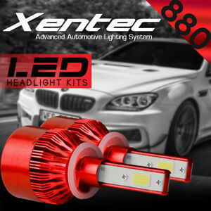 XENTEC LED HID Foglight Conversion kit 880 6000K for 1999-2000 Chevrolet C35