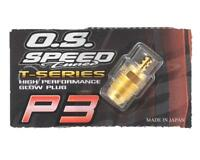 New OS O.S. P3 P 3 Turbo Gold Nitro RC Engine Glow Plug Speed Ultra Hot 71642720