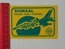 Aufkleber/Sticker: Signaal - Radar Data Control (180217122)