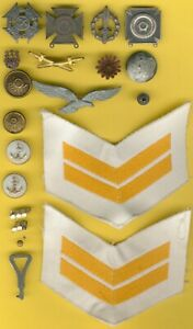 Old German USA Italy Lot 21 Item´s WWI - Preussia, Marine, GDR etc.....