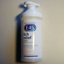 E45 Itch Relief Cream 500g Pump - NEW - MAR '21 - Free UK Post 2nd Class
