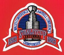 STANLEY CUP FINALS - LOS ANGELES KINGS vs. MONTREAL CANADIENS LARGE 1993 PATCH