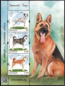 KYRGYZSTAN 2020 DOGS CHIENS HUNDE CANI PERROS ANIMALS PETS SHEET [#2004SH]