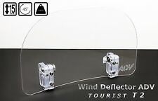 Wind Screen Deflector for motorcycle motorbike windshie LARGE TOURIST WINDSHIELD